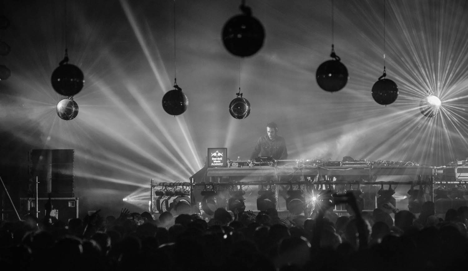DJ Deep performs at Red Bull Music Academy stage during Nuits sonores festival in Lyon, France on May 15th 2015