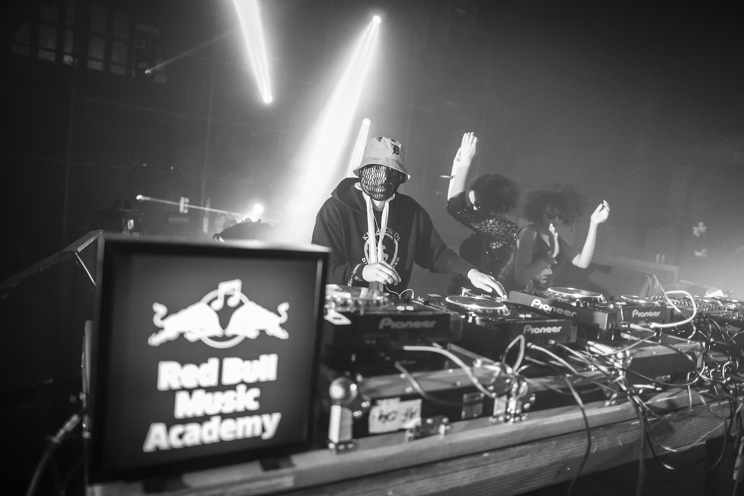 Moodymann performs at Red Bull Music Academy stage during Nuits sonores festival in Lyon, France on May 15th 2015